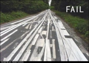 Road Marking FAIL