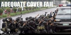 Adequate Cover FAIL