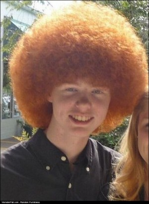 Afro Ginger Hairstyle FAIL
