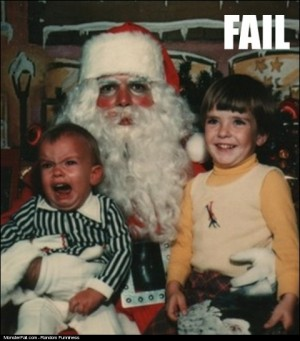 Monster Santa FAIL