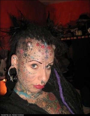 I Think One of Those Piercings May Have Grazed Your Brain