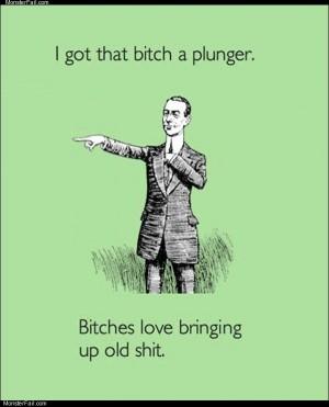 A plunger