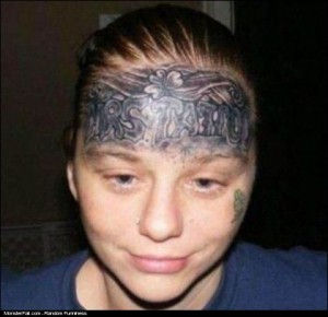 Monster Tattoo FAIL Meet Mrs Stupidity