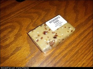 Funny Pics Bacon Maple Fudge