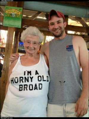An old broad