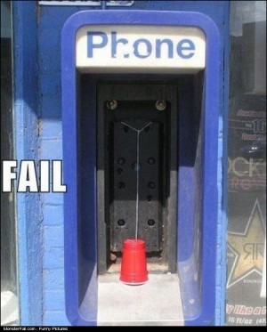Phone Booth FAIL