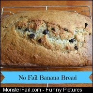 No Fail Banana Bread recipe from Gina Bell aka East Coast Mommy