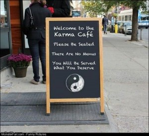 Funny Pics The Karma Cafe