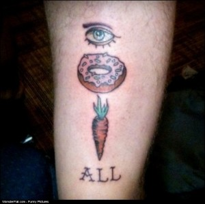 Monster Tattoo WIN see if you get this