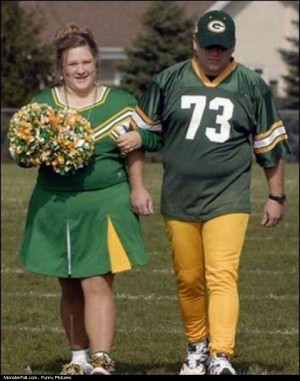 Typical Packers Fans