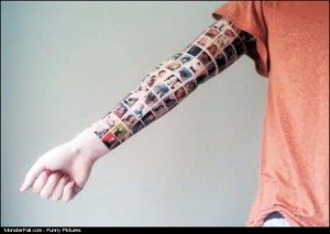 Monster Tattoo FAIL Girl Gets All Her 152 Facebook Friends Tattoed On Her Arm