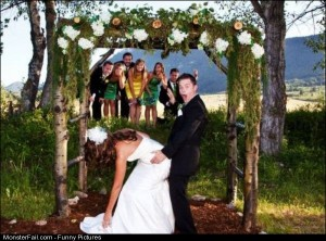 Funny Pics Romantic Wedding