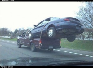 Redneck towing