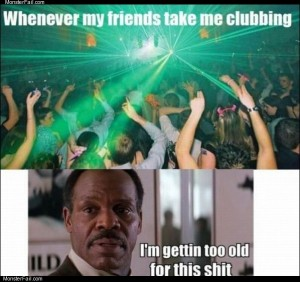 Going clubbing