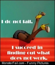 I Do Not Fail Quote