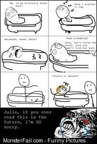 Monster Bathing FAIL
