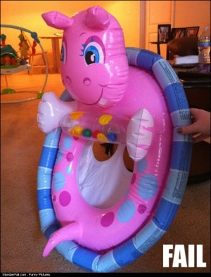 Children Floatie Design FAIL
