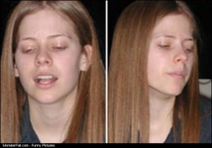 Avril Without Make Up