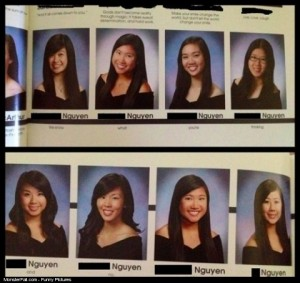 Yearbook FAIL Too Many Nguens