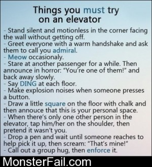 Elevator Trolling