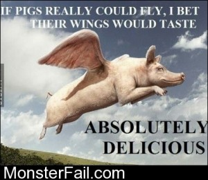 Mmmm Pig Wings