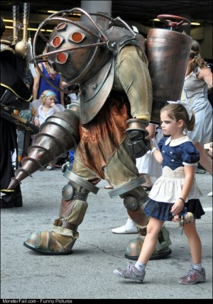Monster bioshock cosplay