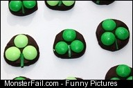 Couponing  Cooking Dark Chocolate Shamrock Candies Pinterest Fail