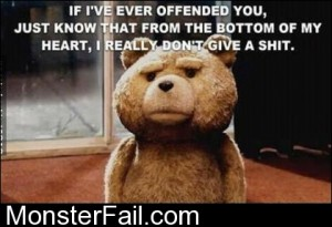 If I Ever Offended You