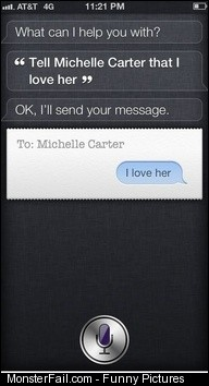 Oh man lol Siri fail