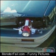 The Struggle Car Headlight Fail