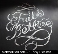Fail Better mural   via Behance