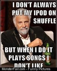 Shuffle Fail Meme
