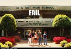 High School Name FAIL