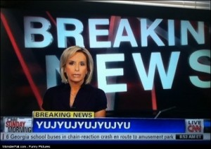 Breaking News FAIL Really