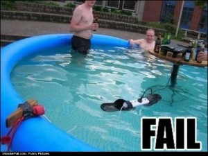 Pool Safety FAIL