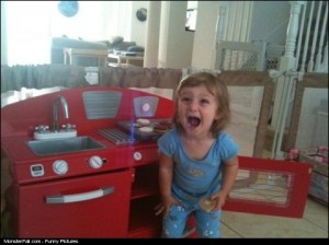 Parenting WIN Her First Kitchen