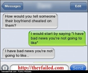 Best Way to Tell Someone Their Boyfriend Is Cheating