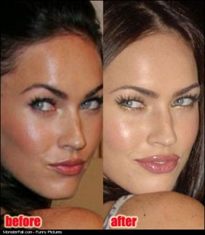 Megan Fox Before And After The Plastic Surgery