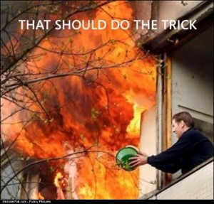 Fireman FAIL That Should Do The Trick