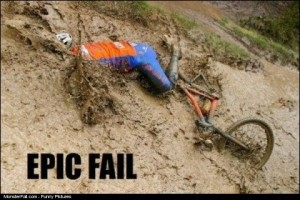 Monster Biking FAIL
