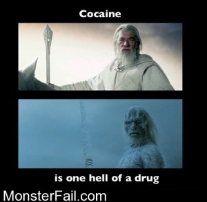 Cocaine Not Even Once