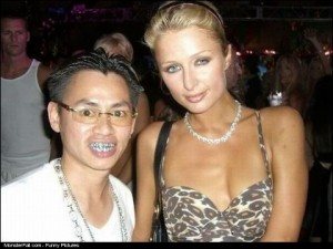 Paris Hilton And Her Biggest Fan