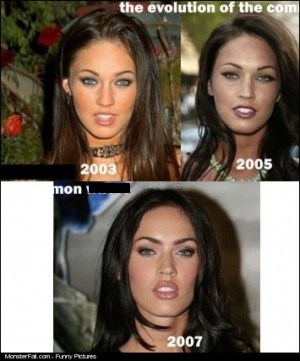 The Evolution Of Megan Fox
