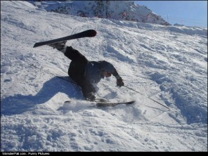 Skiing FAIL