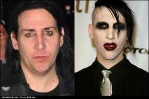 Marilyn Manson Without Makeup FAIL