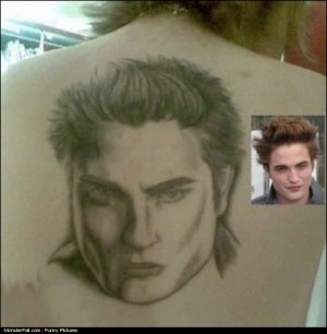 Twilight Tattoo FAIL Edward Is That You