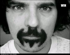 Batman Mustache WIN
