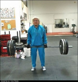 Monster WIN My Grandma Is Stronger Than You