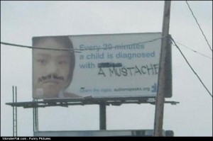 MUSTACHES A Growing Epidemic In Children