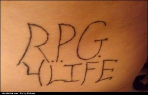 Monster Gamer Tattoo FAIL
